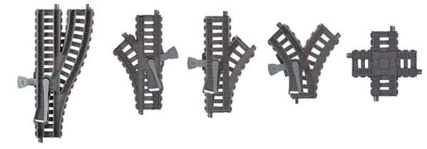 Thomas Trackmaster Track Pack Choose Curved - Straight Or Switches & Turnouts